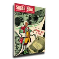 1944 Sugar Bowl Georgia Tech vs. Tulsa Football Bowl Game Wall Art