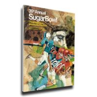 December 1972 39th Sugar Bowl Oklahoma vs. Penn State Football Bowl Game Wall Art