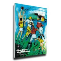 1978 Sugar Bowl Alabama vs. Ohio State Football Bowl Game Wall Art