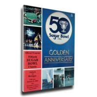 1984 Sugar Bowl Auburn vs. Michigan Football Bowl Game Wall Art