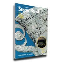 1986 Sugar Bowl Tennessee vs. Miami Football Bowl Game Wall Art