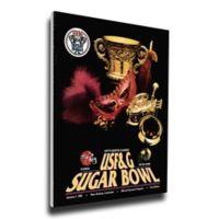 1992 Sugar Bowl Notre Dame vs. Florida Football Bowl Game Wall Art