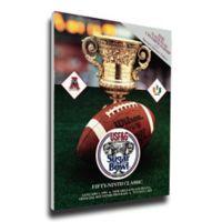 1993 Sugar Bowl Alabama vs. Miami Football Bowl Game Wall Art