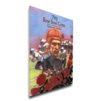 1993 Rose Bowl Michigan vs. Washington Football Bowl Game Wall Art