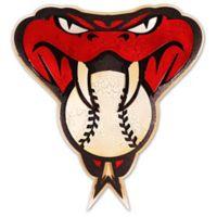 MLB Arizona Diamondbacks 3D Metal Crest Wall Art