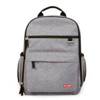 SKIP*HOP® DUO Diaper Backpack in Heather Grey