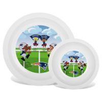 Baby Fanatic® NFL New England Patriots Plate & Bowl Set