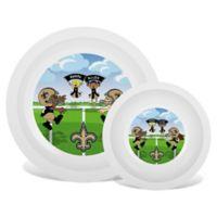 Baby Fanatic® NFL New Orleans Saints Plate & Bowl Set