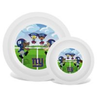 Baby Fanatic® NFL New York Giants Plate & Bowl Set