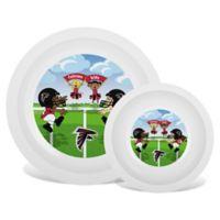 Baby Fanatic® NFL Atlanta Falcons Plate & Bowl Set