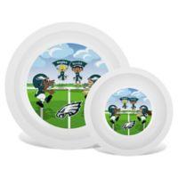 Baby Fanatic® NFL Philadelphia Eagles Plate & Bowl Set