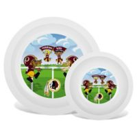 Baby Fanatic® NFL Washington Redskins Plate & Bowl Set