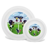 Baby Fanatic® NFL Houston Texans Plate & Bowl Set