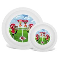 Baby Fanatic® NFL Kansas City Chiefs Plate & Bowl Set