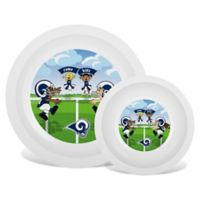 Baby Fanatic® NFL Los Angeles Rams Plate & Bowl Set