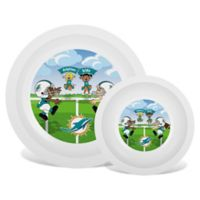 Baby Fanatic® NFL Miami Dolphins Plate & Bowl Set