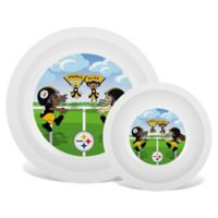 Baby Fanatic® NFL Pittsburgh Steelers Plate & Bowl Set