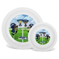 Baby Fanatic® NFL Seattle Seahawks Plate & Bowl Set