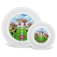 Baby Fanatic® NFL San Francisco 49ers Plate & Bowl Set