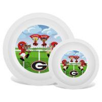 Baby Fanatic® University of Georgia Plate & Bowl Set
