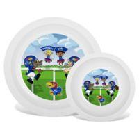 Baby Fanatic® University of Kansas Plate & Bowl Set