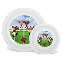 Baby Fanatic® University of Louisville Plate & Bowl Set