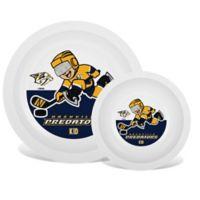 NHL Nashville Predators Plate & Bowl Set