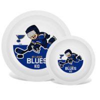 NHL St. Louis Blues Plate & Bowl Set