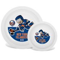 NHL New York Islanders Plate & Bowl Set