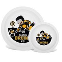NHL Boston Bruins Plate & Bowl Set