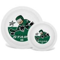 NHL Dallas Stars Plate & Bowl Set
