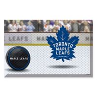 NHL® Toronto Maple Leafs Rubber Scraper Door Mat