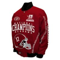University of Alabama 17-Time National Champions Twill Jacket