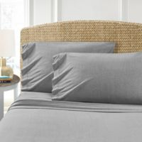 Morgan Home T-Shirt King Sheet Set in Grey