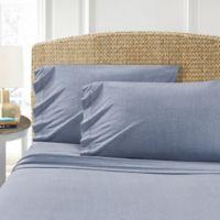 Morgan Home T-Shirt Queen Sheet Set in Blue