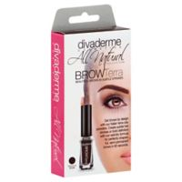 divaderme Brow FXII Terra 2-in1 Brow Terra + Enhancer Treatment in Terra Chocolate