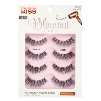 8 PAIRS KISS BLOWOUT LASH - Bouffant 72648 - FULL BOUNCY VOLUME CURL NEW -