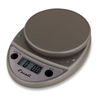 Escali  Primo 11 lb  Digital Food Scale in Metallic. Buy Escali Scales from Bed Bath   Beyond