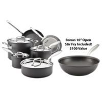 Breville® ThermalPro™ Hard Anodized Nonstick 10-Piece Cookware Set