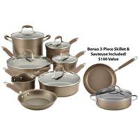 Anolon® Advanced Umber 12-Piece Cookware Set