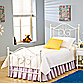 Hillsdale Furniture Westfield Metal Full Bed Set with Rails