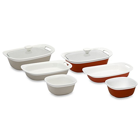CorningWare® Etch™ 4-Piece Bakeware Set  sc 1 st  Bed Bath u0026 Beyond : corningware etch dinnerware - pezcame.com