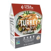 Fire & Flavor™ Turkey Perfect™ Herb Blend Brining Kit