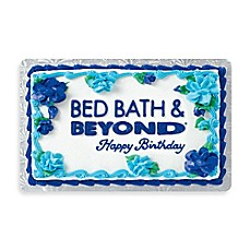 Happy Birthday Cake Gift Card Bed Bath Beyond