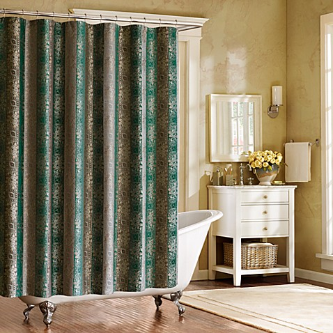 Bombay Moroccan 72 Inch X 72 Inch Shower Curtain Bed