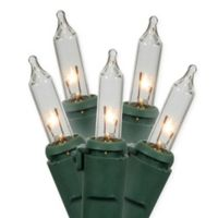 Vickerman 34.25-Foot 100-Light Commercial Christmas Mini String Lights in Clear