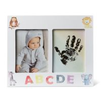 Little Me® Hand and Foot 4-Inch x 6-Inch Picture Frame