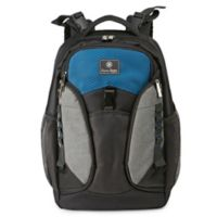 J is for Jeep® Backpack Diaper Bag in Grey/Blue