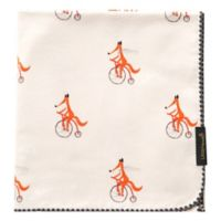 Little Fennec Flannel Cuddle Blanket in Riding