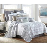 Levtex Home Josie Spa King Quilt Set in Blue